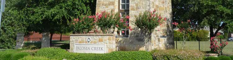 Paloma Creek Sign