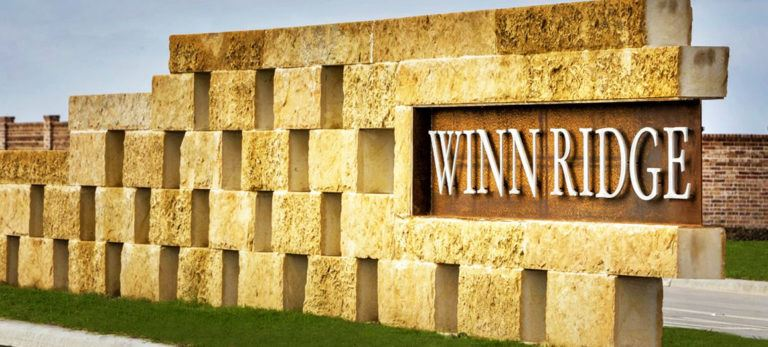 Winn Ridge Entry Sign